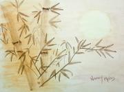Asian Dusk Bamboo