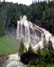 Pyramid Creek Falls, Pyramid Creek Falls Provincial Park, Thompson-Nicola B, BC, Canada