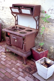 Old Stove, Cambria Pines