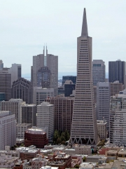Transamerica Building from Coit Tower, San Francisco