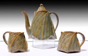 Golden Teapot Cups