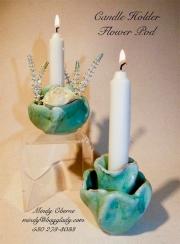 Candle Holder Flower Pod