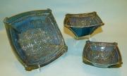 Square Aztec Bowls