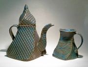 Teapot & Cup