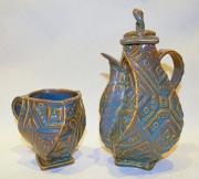 Aztec Teapot & Cup