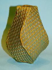 Basket Weave Vase