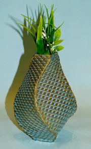 Fishscale Vase