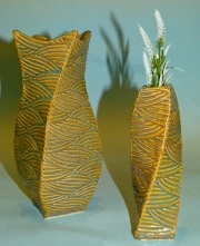Fluted & Straight Vases