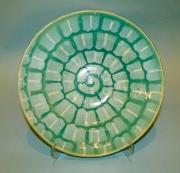 Turquoise & Titanium Plate
