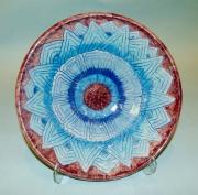 Blue-purple Plate