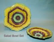 Yellow-purple Salad Set