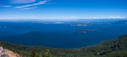 View from Mount Constitution, Orcas Island
