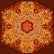 Fall on Fire Mandala