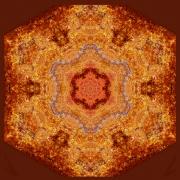 Fall on Fire Mandala