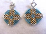 Basketweave Earrings